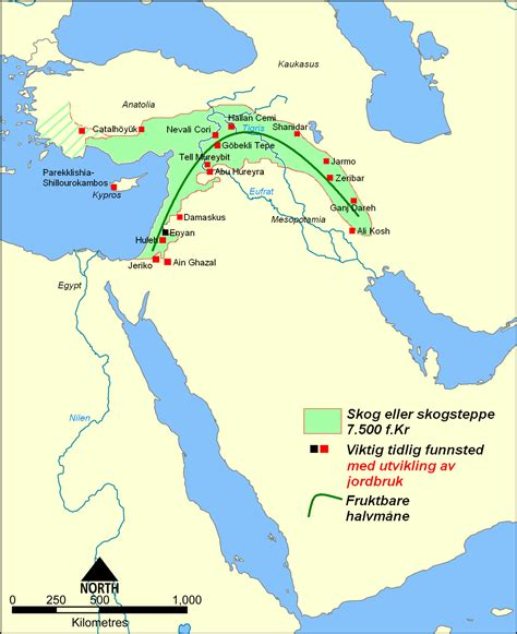 fertile crescent map file fertile crescent 7500 bc png wikimedia commons