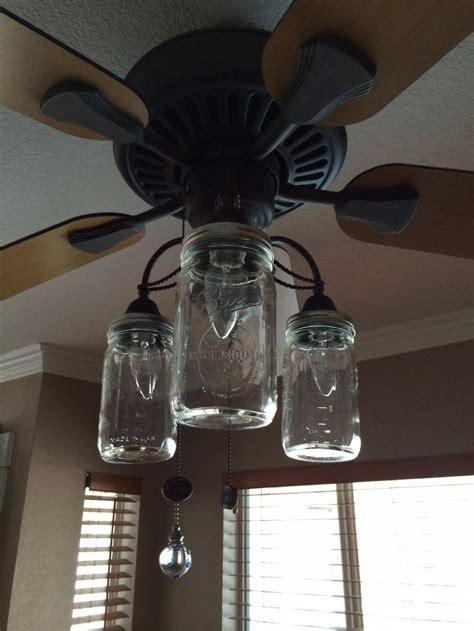 ceiling fan with mason jar lights the 25 best farmhouse ceiling fan accessories ideas on