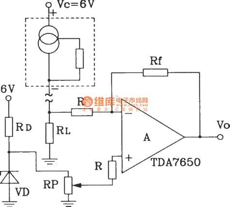 integrated circuit sensor for temperature precision centigrade thermometer circuit composed by sl134 integrated temperature sensor