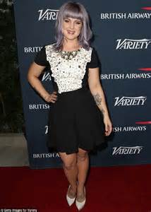 kelly osbourne films the start of her painful process to