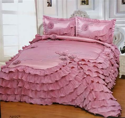 edredon rosa edred 243 n 3pcs rosa de lujo para cama ropa de cama 2
