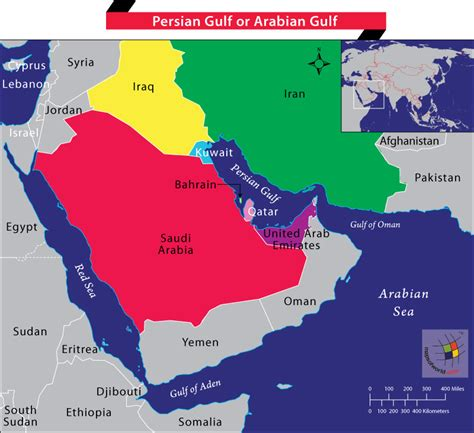 middle east map gulf gulf or arabian gulf which is the correct name