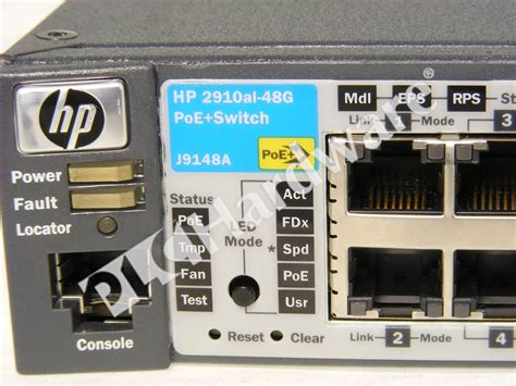 rockwell automation visio stencils plc hardware hp networking j9148a used in a plch packaging
