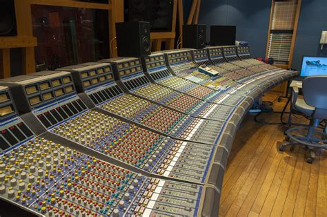 recording mixing console mixing console
