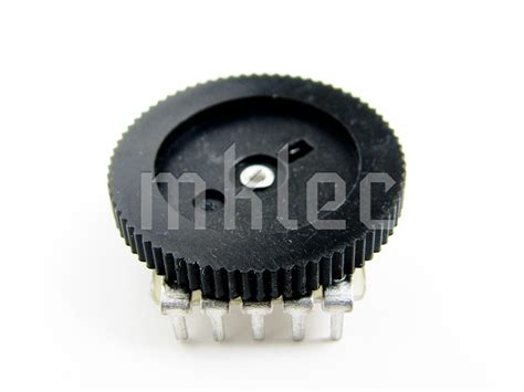 trimmer capacitor on breadboard 50k duplex potentiometer b503