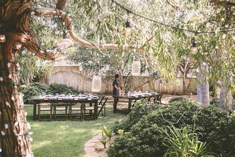 Bohemian Backyard by Socal Backyard Wedding Skater Bohemian Storyboard Wedding