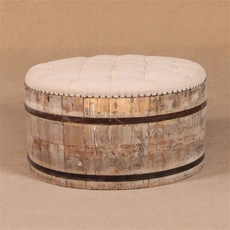 wine barrel ottoman 122 best images about wood furniture ideas on pinterest