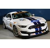 The Competition Version Of Ford's Mustang Shelby GT350R