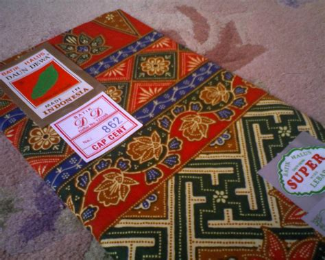 Kursi Gajah Kerang kain batik dan kain pelikat sold out