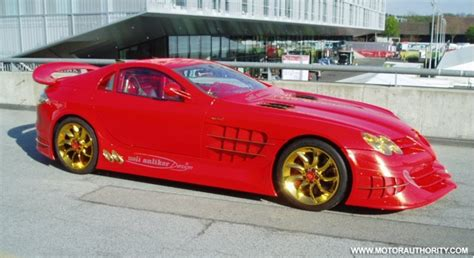 mercedes mclaren red red gold dream mercedes mclaren slr up for sale gallery 1