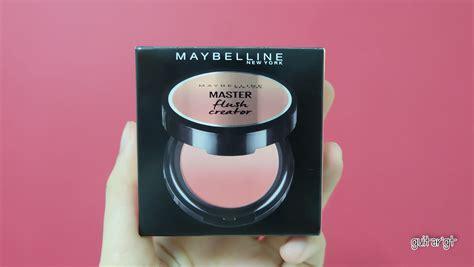 Maybelline Master Flush Creator บล ชออน maybelline master flush creator ชอบจนต องมาบอกต อ