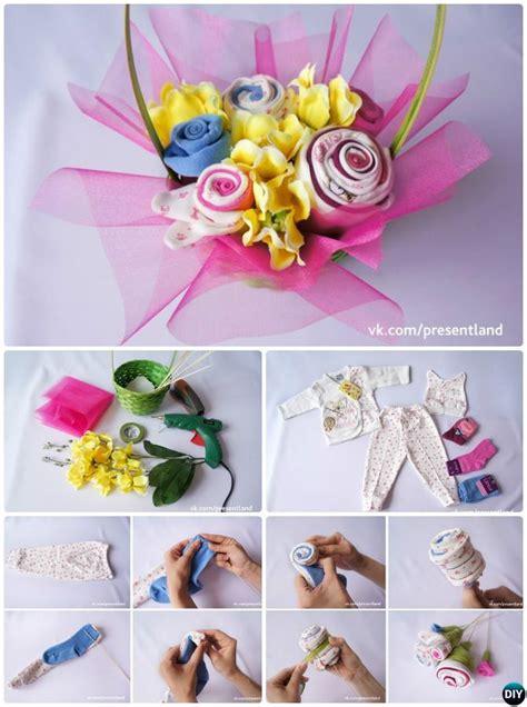 Diy Onesie Baby Shower by Handmade Baby Shower Gift Ideas Picture
