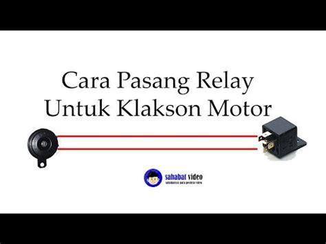 I Klakson Denso Keong Hitam Power Tone Relay klakson denso keong power tone on vario 125