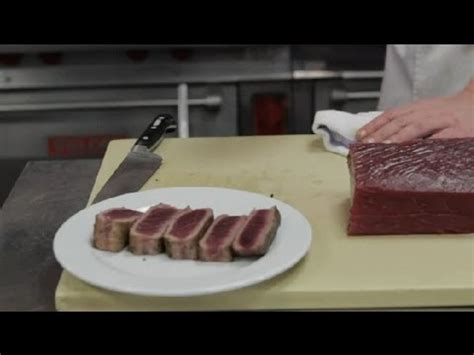 The Best Way To Cook Tuna by The Best Way To Cook Tuna Steaks Steak House Cooking
