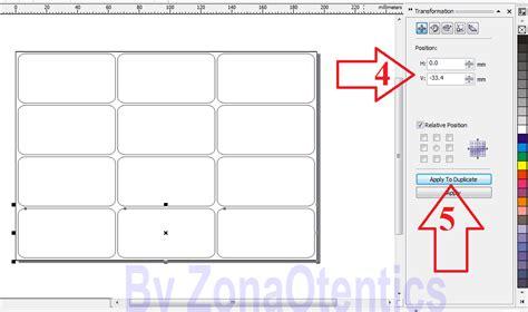 Membuat Label Undangan Corel | cara membuat label undangan dengan corel draw zonaotentics