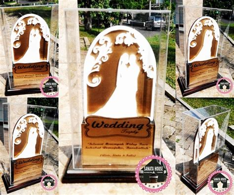 Wedding Trophy by Jual Wedding Trophy Cocok Untuk Souvenir Kado Pernikahan