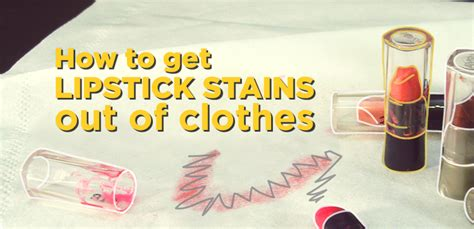 how to get lipstick out of couch how to take out lipstick stains