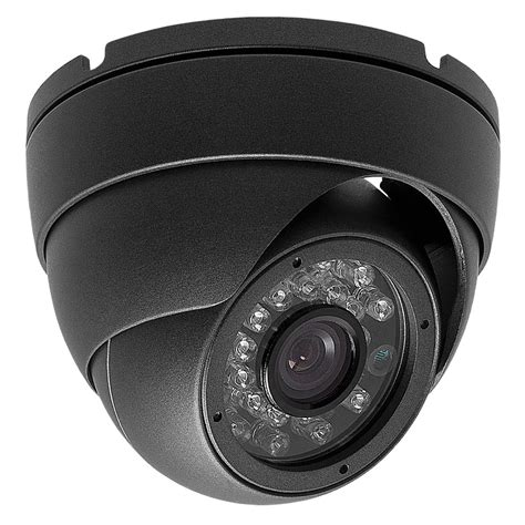 Cctv Indoor Surveillance Indoor Outdoor Security Dome 700tvl 3 6mm Gray 24ir Cctv