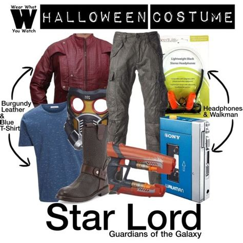 printable star lord walkman a halloween costume how to inspired by chris pratt as star