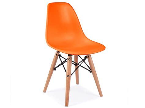 chaise enfant eames chaise enfant eames dsw orange
