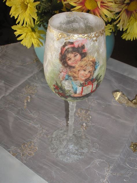 Decoupage With Tissue Paper On Glass - 25 unique decoupage glass ideas on diy
