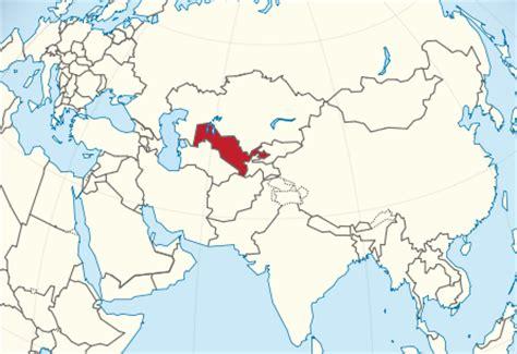 uzbekistan world map can uzbeks understand uighur language central asia
