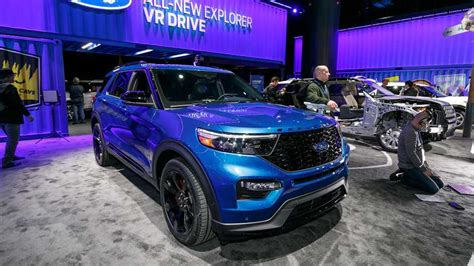 ford explorer st    horsepower crossover update