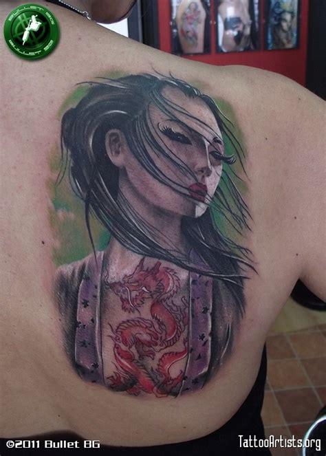 geisha tattoo art geisha tattoo artists org