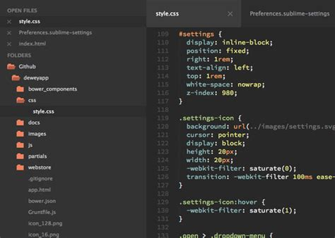 sublime text 3 predawn theme 35 cool sublime text themes designbeep
