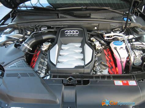 Audi S5 Motor by Auto Audi S5 Motor Foto