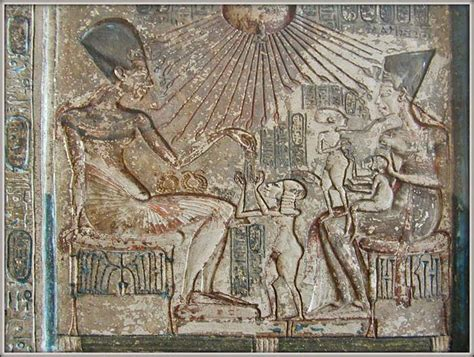 akhenaten and his family daily life in ancient egypt