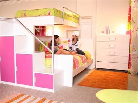 awesome beds cool bunk beds for teenage girls bunk beds with swirly