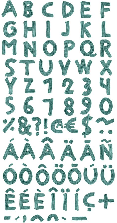 Handmade Font - i mondays 8 team confetti