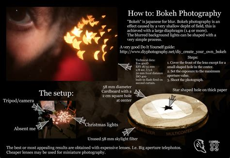 create a whole new effect by tucking one side of a bob bokeh tutorial by mcros on deviantart