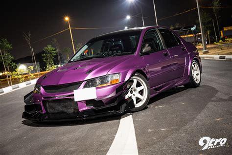 mitsubishi purple mitsubishi evolution 9 purple with rage 9tro