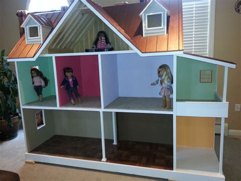american girl dolls houses custom built american girl 18 inch doll house one of a kind ebay