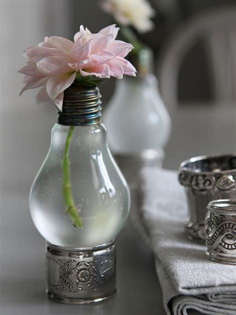 Lightbulb Bud Vase by Diy Lightbulb Vases Weddings By Lilly