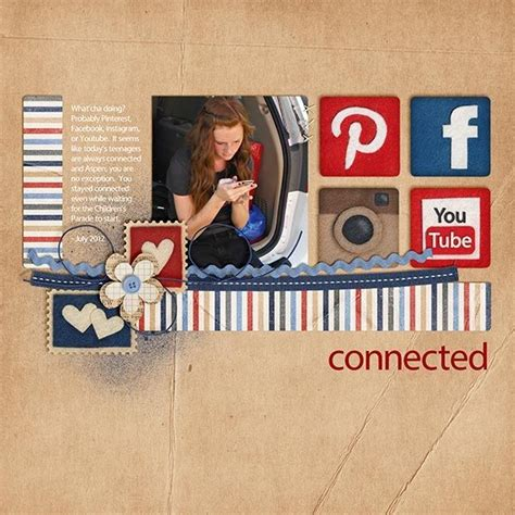 Creating Hybrid Scrapbook Layouts The Mad Cropper 3 by 1000 Images About Scrapbook Page Layouts On