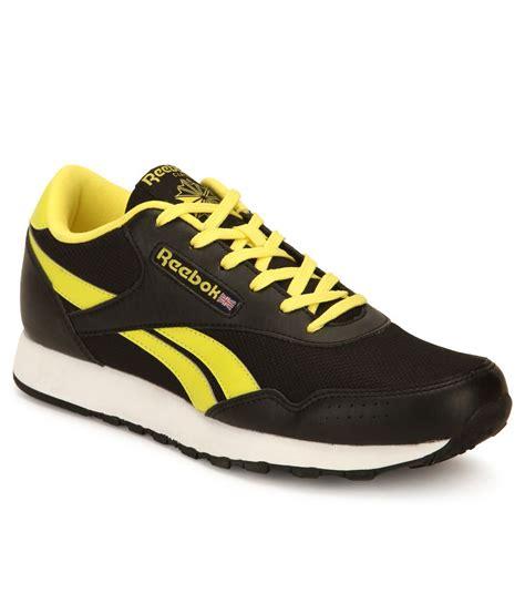 Reebok Running Black Original reebok classic proton 2 black running sports shoes buy reebok classic proton 2 black running