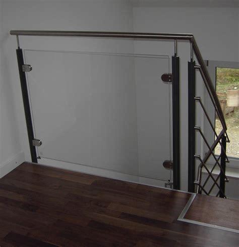 treppengeländer innen glas preis reischl metallbau innen
