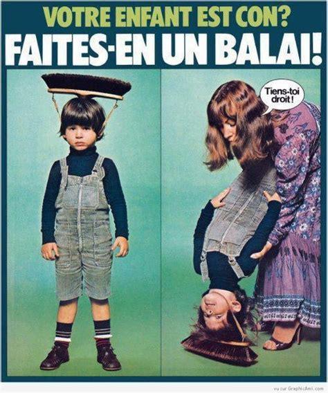 Tout De Meme - votre enfant est con faites en un balai image