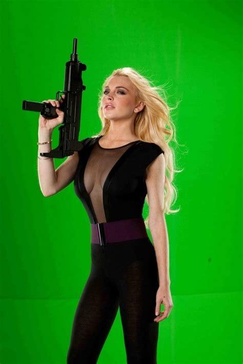 Random Lindsay Lohan Club Pictures by Production Photos Lindsay Lohan Machete Photo