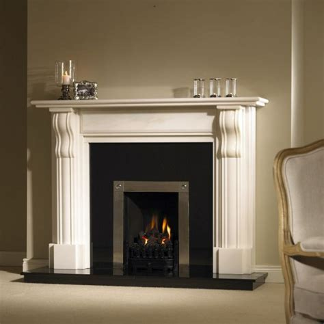 White Fireplaces Pictures by Bracken White Marble Fireplace