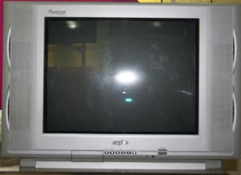 sanyo st 21kf2 true flat crt color tv with stand fan cebu appliance center