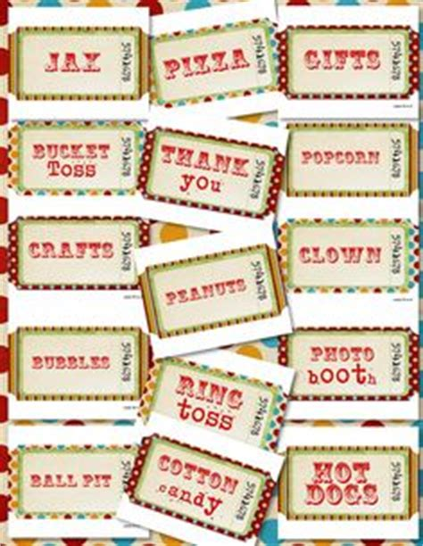 carnival themed names 1000 images about back to school carnival on pinterest
