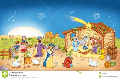 secuencia de imagenes nacimiento de jesus nacimiento de jes 250 s stock de ilustraci 243 n imagen de