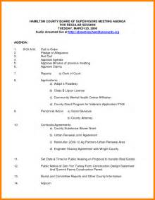 agenda for board meeting template 8 nonprofit board meeting agenda template letter format for