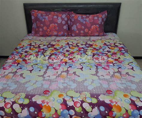 Sprei Katun Jepang Motif Fresh Ukuran 180x200 sprei motif rainbow balloon 180x200 kisbedding