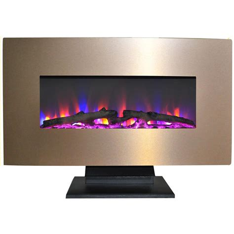 fireplace display hanover fireside 36 in electric fireplace with multi