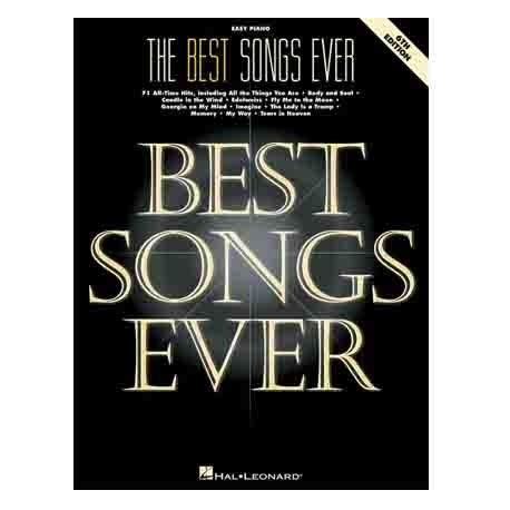 Best Song Th | best songs ever easy piano 6th edition easy piano